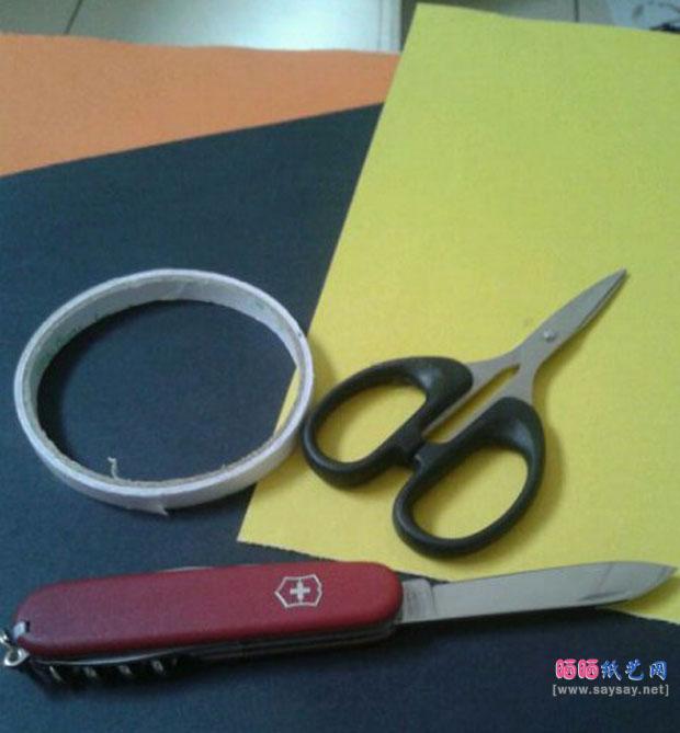 萌萌的猫头鹰手工制作教程需要的材料包