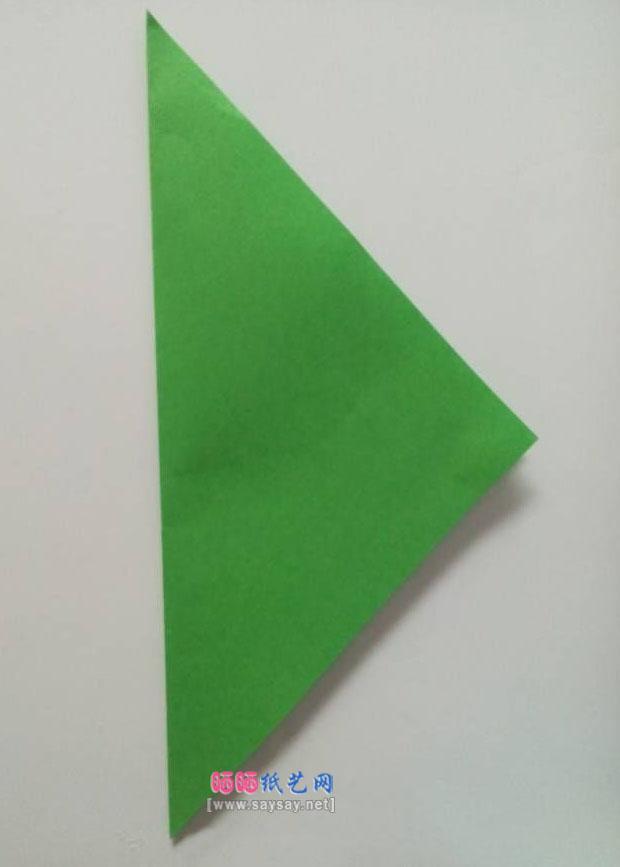 简单立体雪花剪纸教程图片步骤2