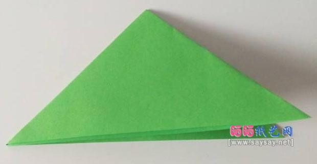 简单立体雪花剪纸教程图片步骤3
